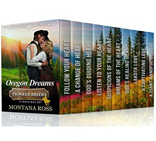 Oregon Dreams: 10-Book Box Set of Sweet, Clean, Mail Order Bride Western Historical Romance