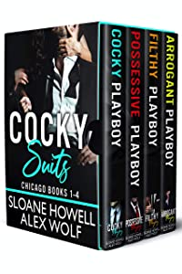 Cocky Suits Chicago: Books 1-4