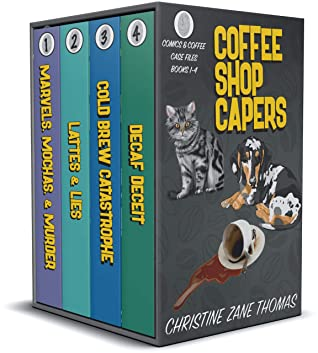 Coffee Shop Capers: Comics and Coffee Case Files Books 1-4