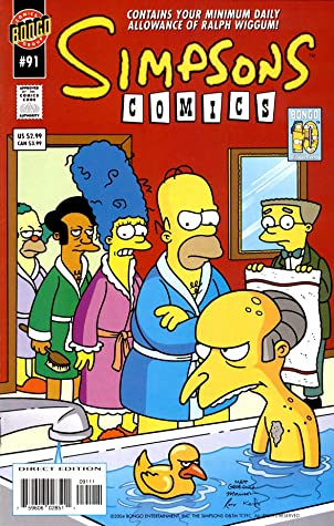 Simpsons Comics: Vol 16 Funny Cartoon Family Comics Books For Kids, Boys , Girls , Fans , Adults