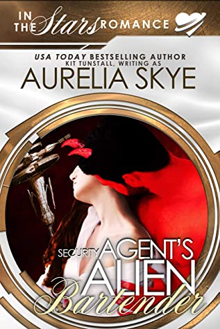 Security Agent's Alien Bartender: Olympus Station #3 (In The Stars Romance)