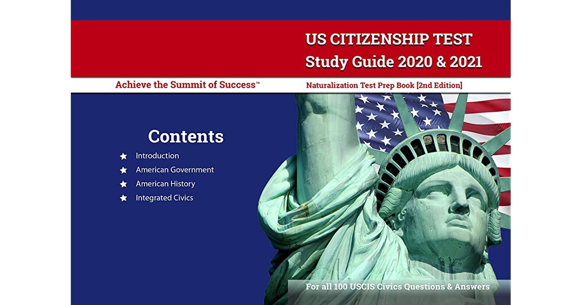 US Citizenship Test Study Guide 2020 and 2021 ...