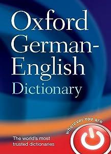 Oxford German - English Dictionary