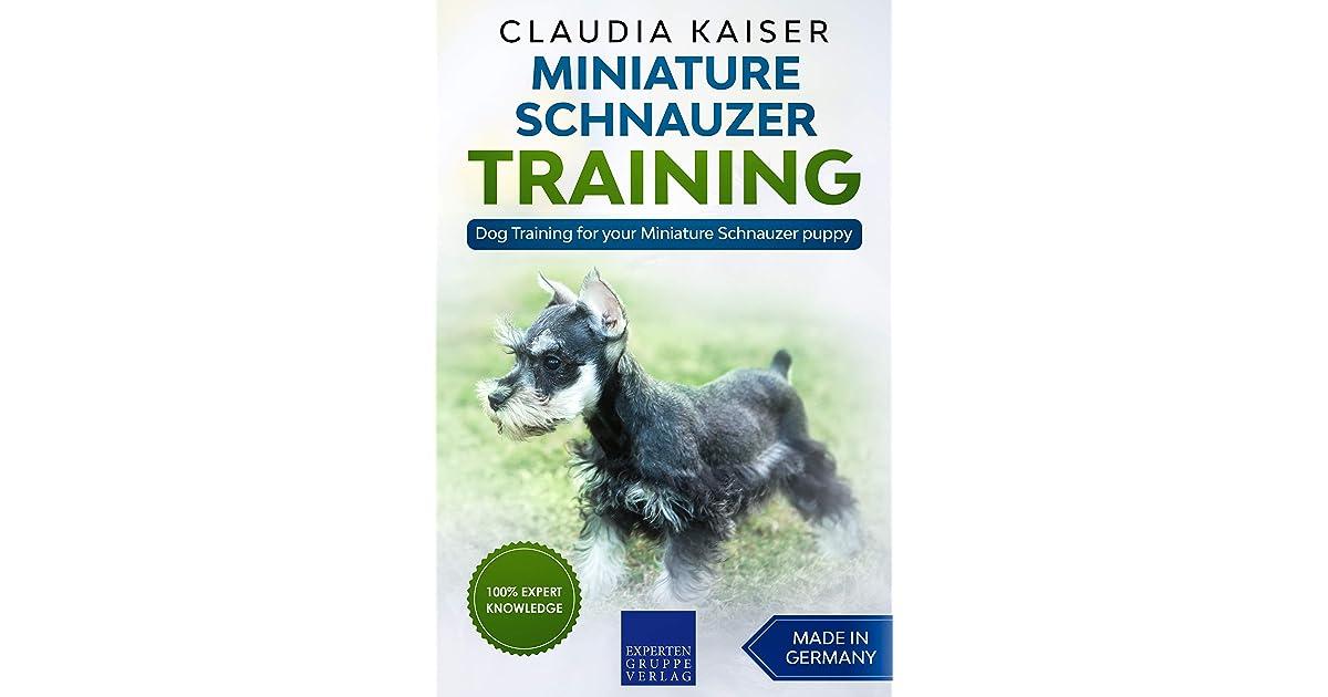 Miniature Schnauzer Training Dog Training For Your Miniature Schnauzer Puppy By Claudia Kaiser