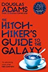 Book cover for The Hitchhiker's Guide to the Galaxy (Hitchhiker's Guide to the Galaxy, #1)