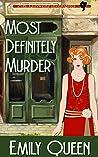 Most Definitely Murder (Mrs. Lillywhite Investigates, #6)