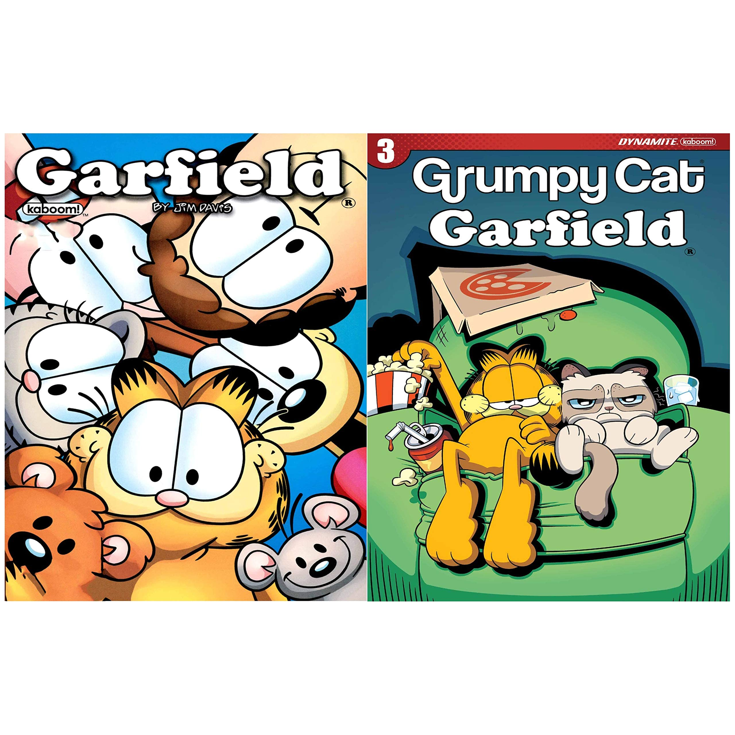 Garfield Full Series Grumpy Cat Garfield Issue 3 By Alexandre Bernassau