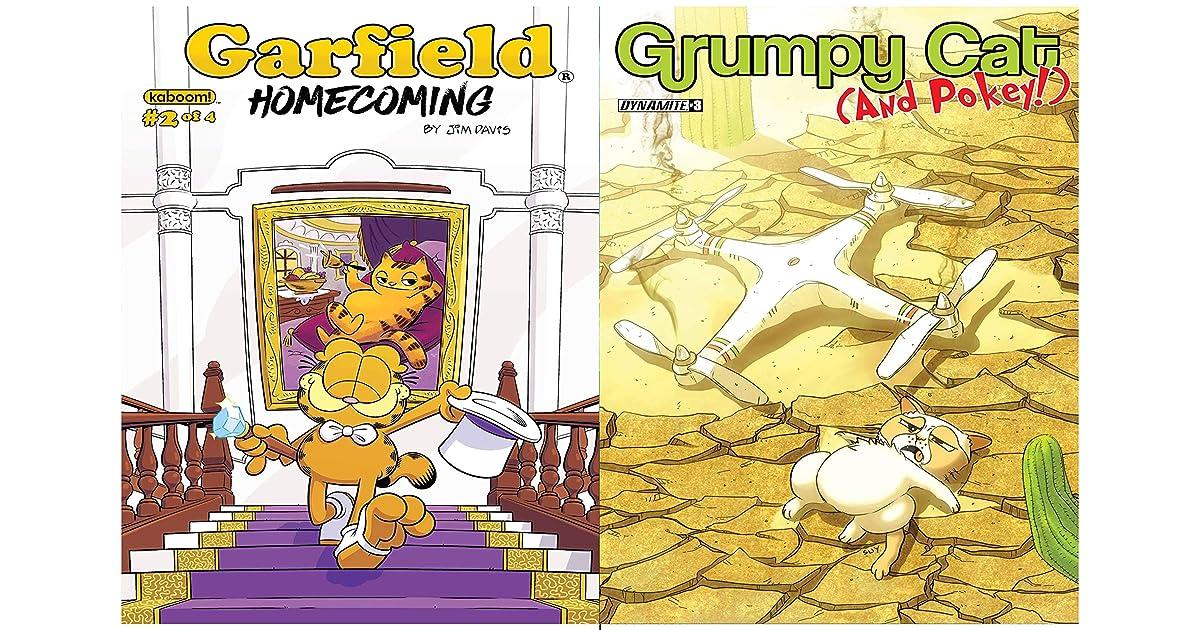Garfield Full Series Grumpy Cat Pokey Issue 3 By Alexandre Bernassau