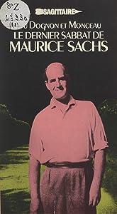 Le dernier sabbat de Maurice Sachs