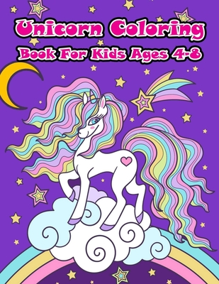 Unicorn Coloring Book For Kids Ages 4 8 A Collection Of Fun And Easy Unicorn Unicorn Friends And Other Cute Baby Animals Coloring Pages For Kids By Aa Gg