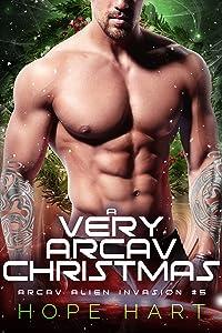 A Very Arcav Christmas (Arcav Alien Invasion, #5)