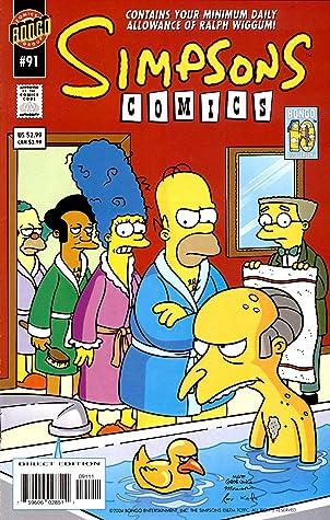Simpsons Comics: Vol 16 Funny Cartoon Family Comics Books For Kids, Boys , Girls , Fans , Adults