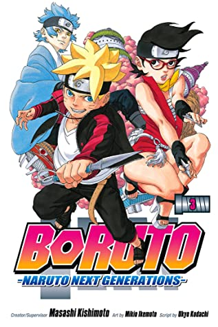 Next Generations: Vol 3 Boruto Naruto Great Shounen Manga For Young & Teens , Adults