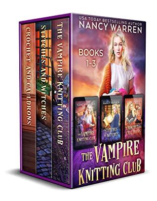 Nancy Warren Vampire Knitting Club Series Books 1-8