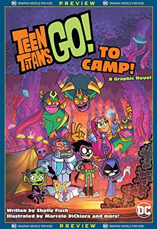 DC Graphic Novels for Kids Sneak Peeks: Teen Titans Go! to Camp (2020-) #0.5 (Teen Titans Go! To Camp
