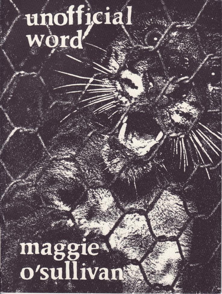 UNOFFICIAL WORD Maggie O;Sullivan
