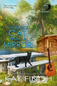The Black Cat Breaks a Mirror (A Bad Luck Cat Mystery #5)