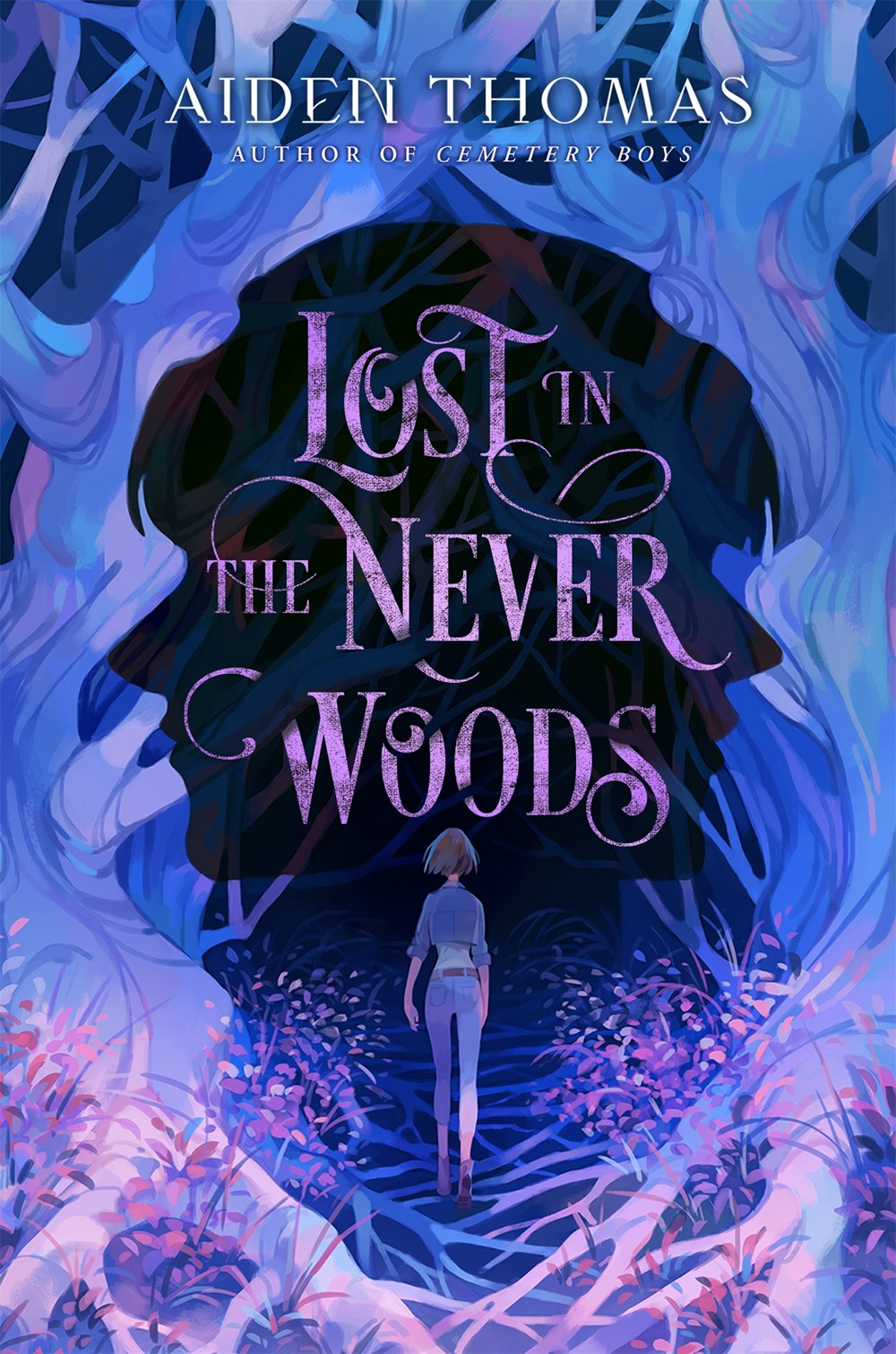 Book cover for Lost in the Never Woods