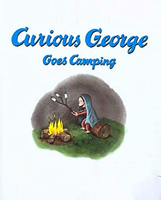 Curious George Goes Camping: Recommended for classic children's picture books (Traditional Chinese Edition)