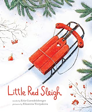 {Mini Swoon} Little Red Sleigh by Erin Guendelsberger