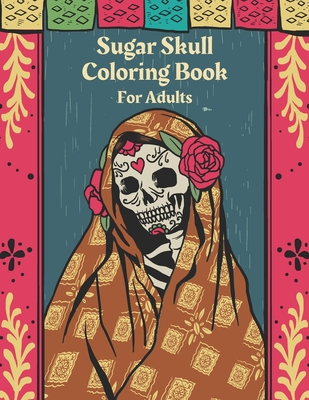 Free Printable Day of the Dead Coloring Book Page by ... | 400x309