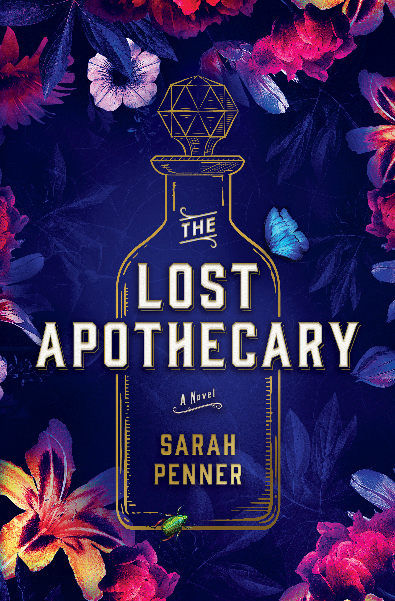 Cover of The Lost Apothecary by Sarah Penner