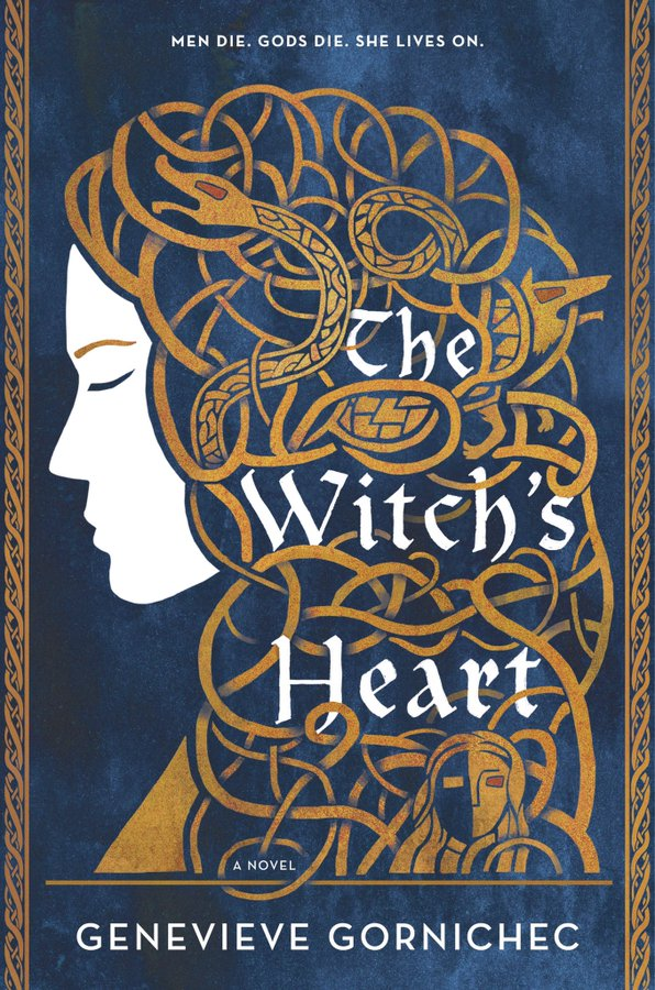 Cover of The Witch's Heart by Genevieve Gornichec