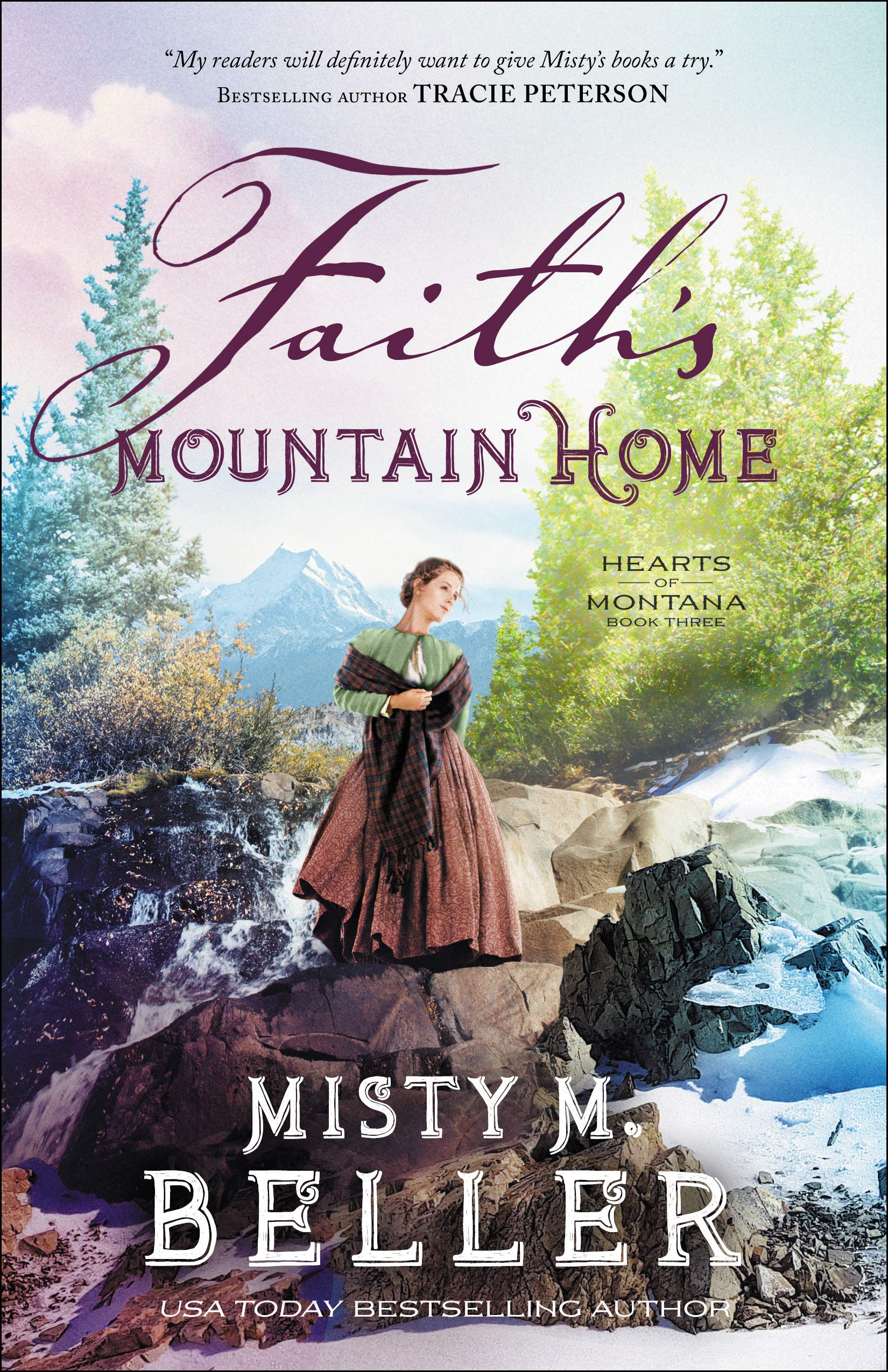 Faith's Mountain Home (Hearts of Montana, #3)