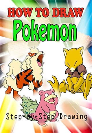 How to Draw Pokemon Characters : Easy Step-by-step Drawing (Children's Drawing Books)