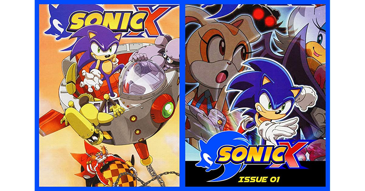 Sonic The Hedgehog X Comic Book Issue 01 By Aimee Wong