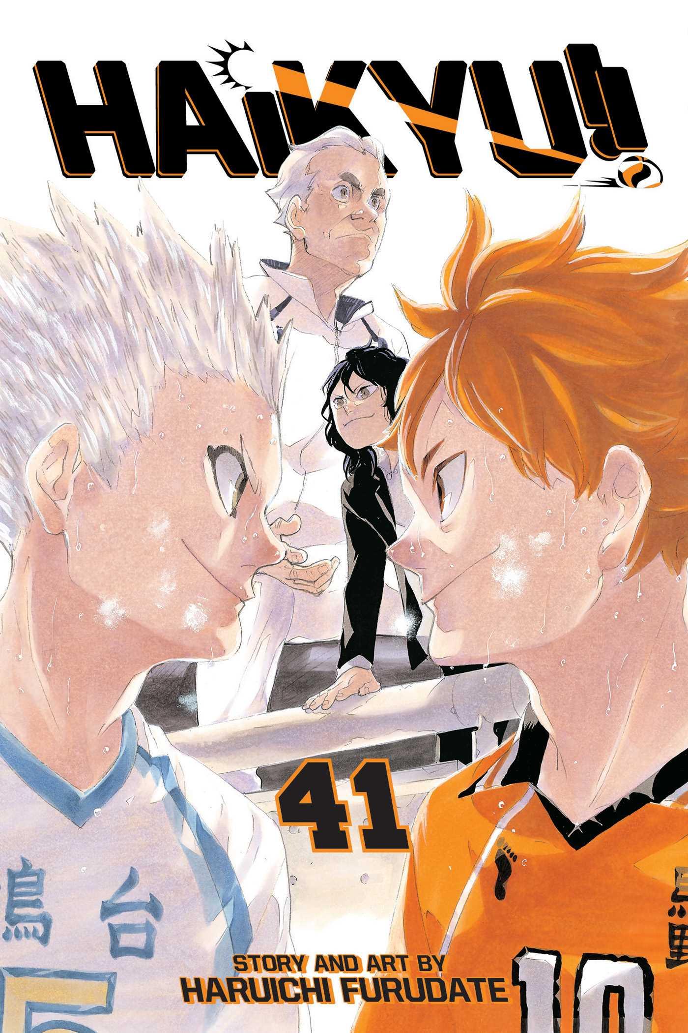Haikyu!!, Vol. 41 by Haruichi Furudate