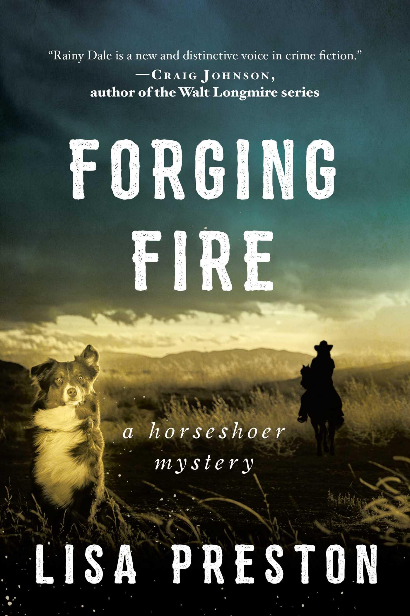 Forging Fire (Horseshoer Mystery #3)