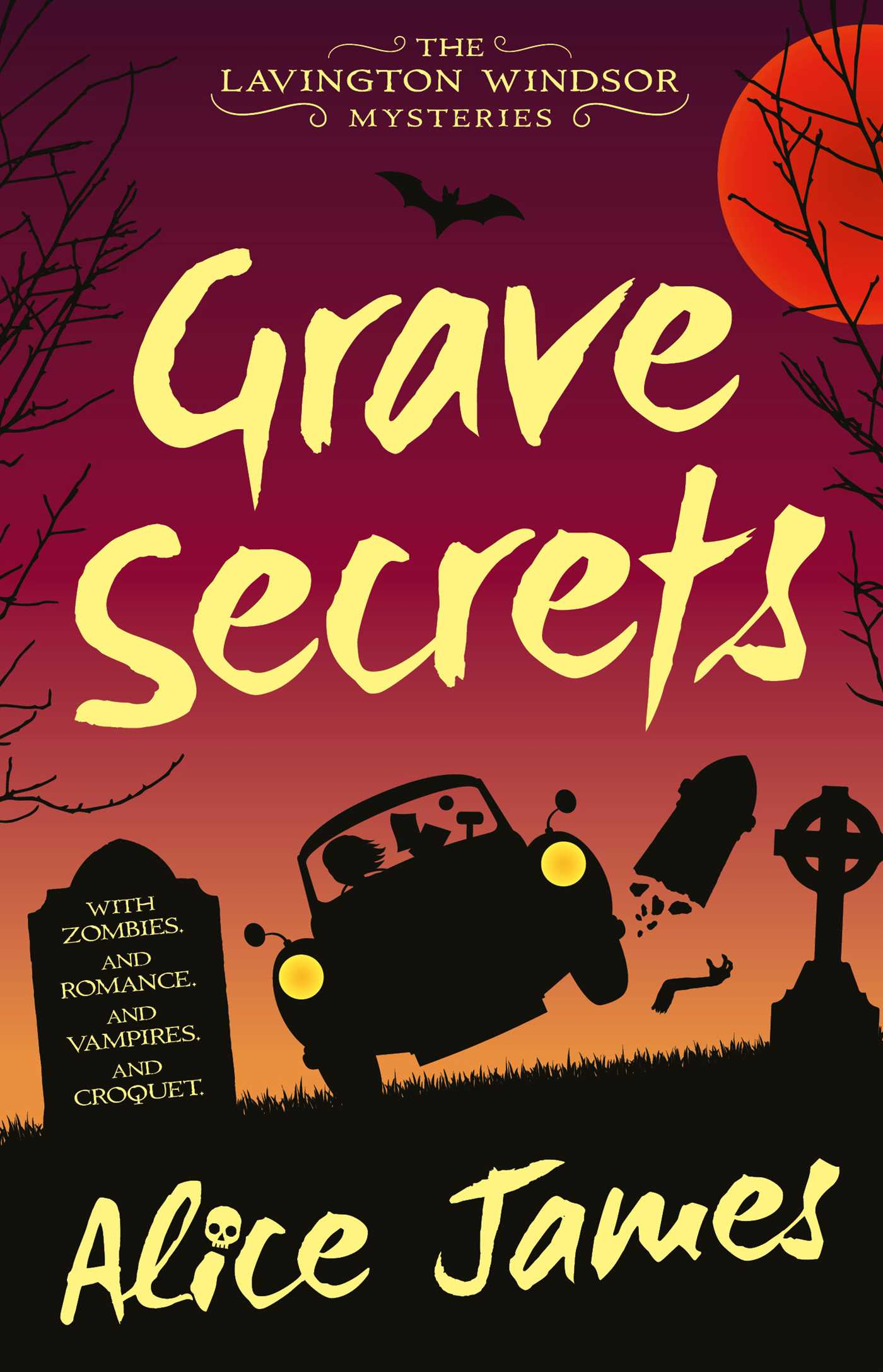 Grave Secrets (The Lavington Windsor Mysteries #1)