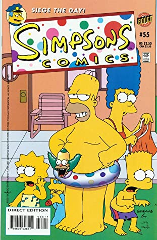 Simpsons Comics: Vol 10 Funny Cartoon Family Comics Books For Kids, Boys , Girls , Fans , Adults