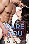 More Than Dare You (More Than Words, #6) audiobook review