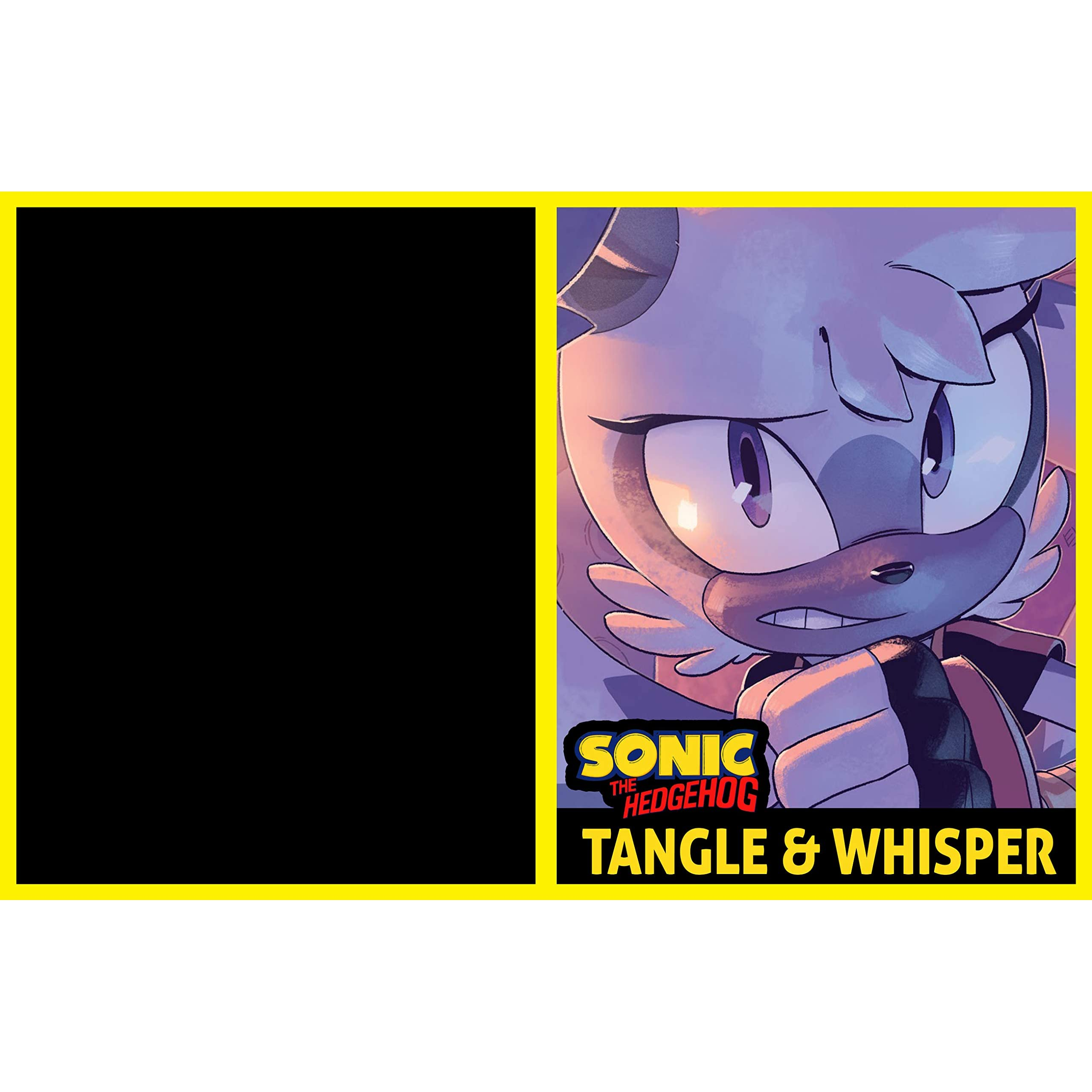 Sonic The Hedgehog Sonic Tangle Whisper Comic Book By Andrew Mcdonald
