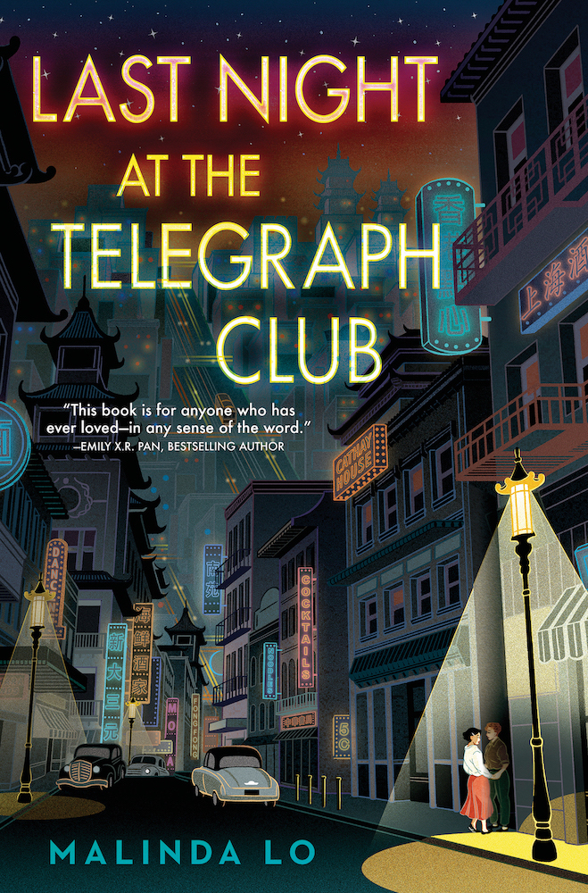 Book cover for Last Night at the Telegraph Club