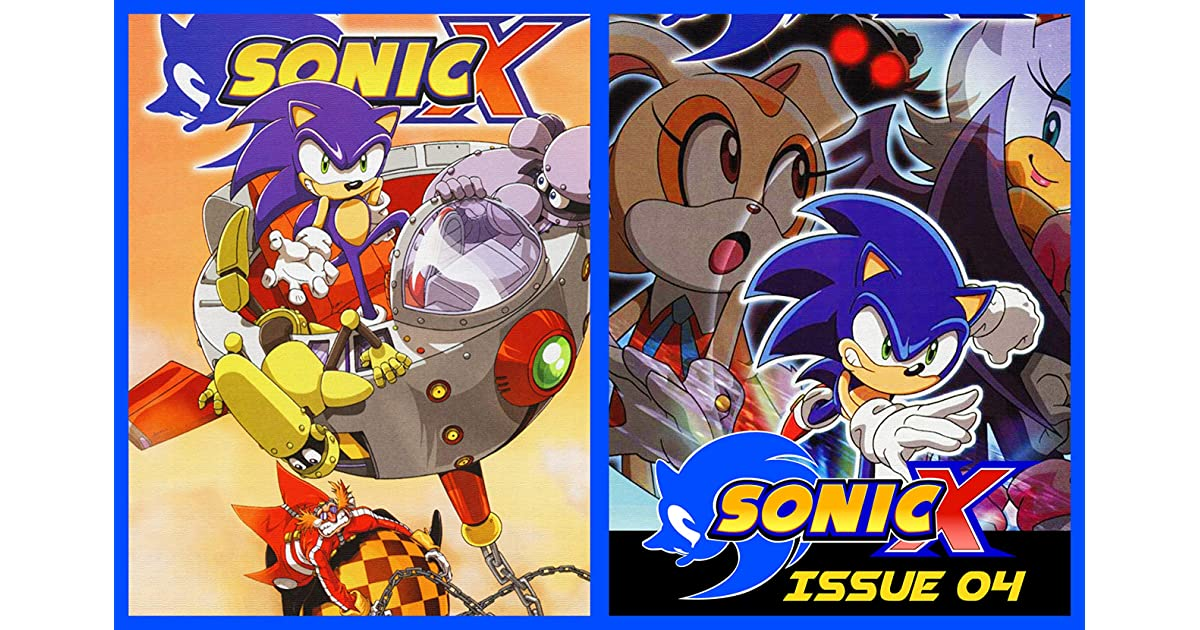 Sonic The Hedgehog X Comic Book Issue 04 By Aimee Wong