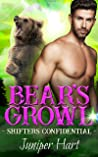 Bear's Growl (Shifters Confidential #3)