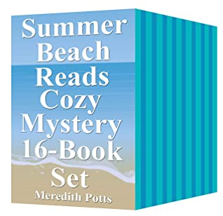 Summer Beach Reads Cozy Mystery 16-Book Set