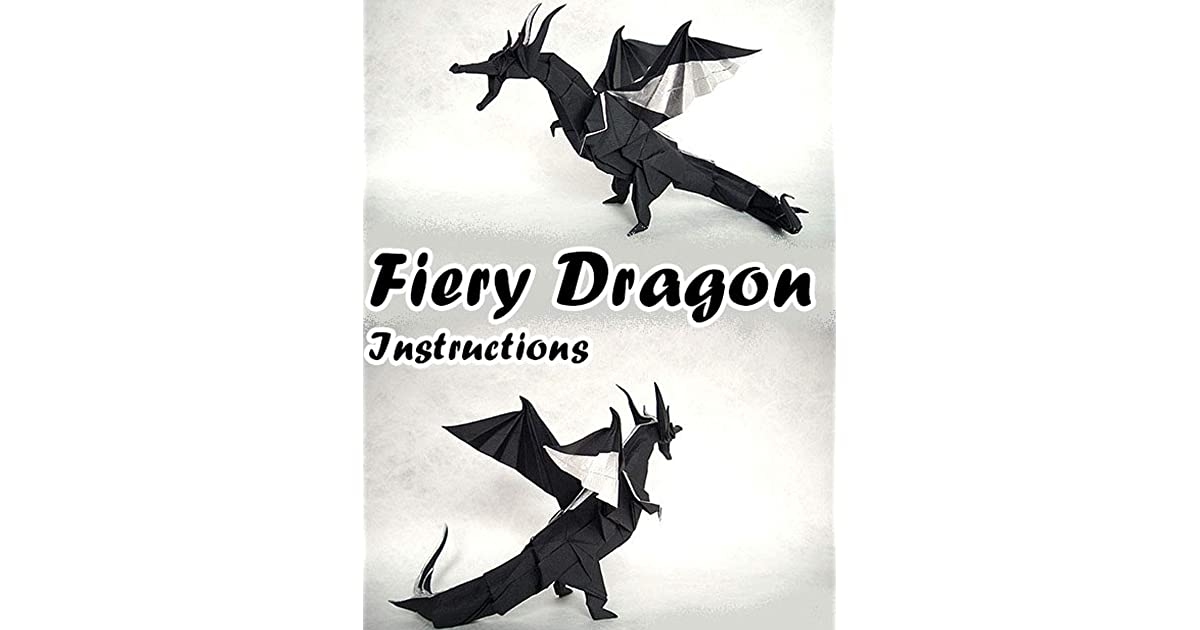 FIERY DRAGON Diagram (7 of 8) Paper Origami | Fiery dragon ... |Origami Fiery Dragon Instructions