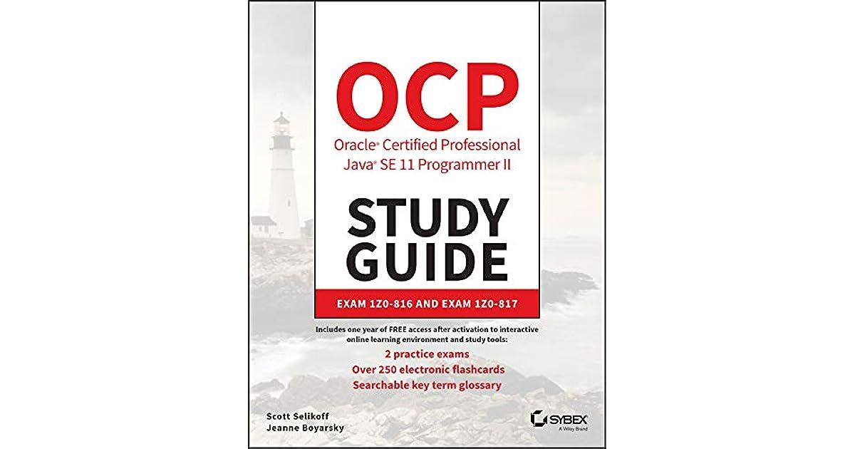 Ocp Oracle Certified Professional Java Se 11 Programmer Ii