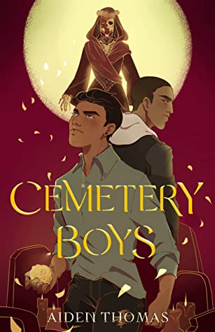 Book cover for Cemetery Boys