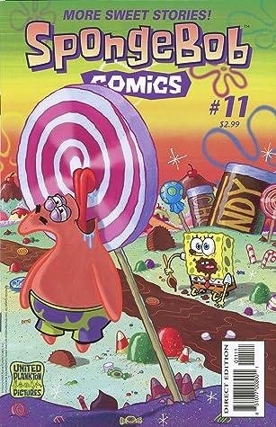 Sponge: Vol 2 Funny Adventure Cartoon SpongeBob Comics Graphic Novels SquarePants Books For Kids, Boys , Girls , Fans , Adults