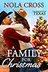 A Family For Christmas (The Burlesons of Texas, #2)