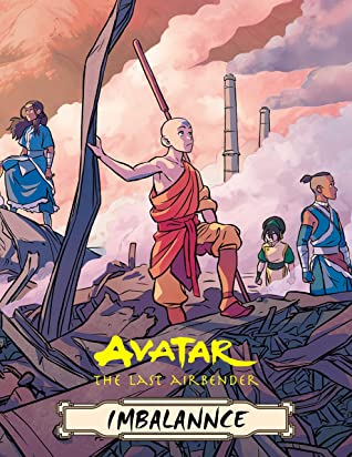 Avatar: The Last Airbender Imbalance Comics Book Nickelodeon Avatar