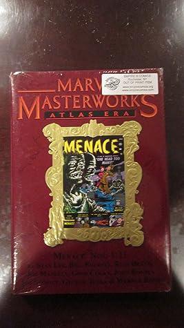 Marvel Masterworks Volume 126 Atlas Era Menace Limited Edition