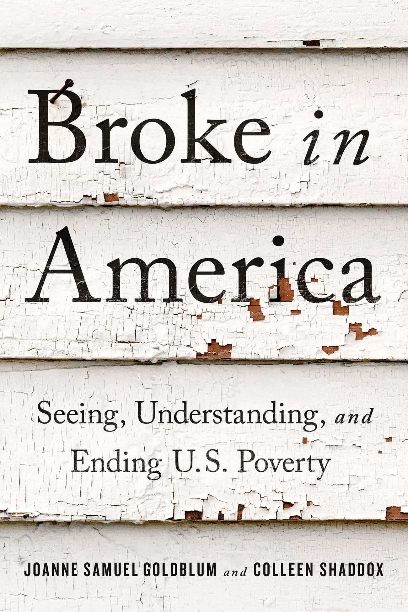 Broke in America: Seeing, Understanding, and Ending U.S. Poverty