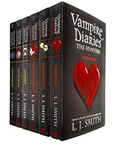 Vampire Diaries Complete Collection 6 Books Set by L. J. Smith (The Hunters 3 Books & The Salvation 3 Books)