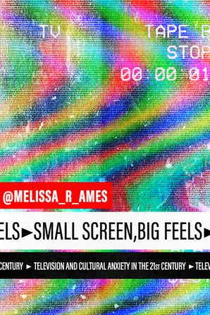 Small Screen, Big Feels: Television and Cultural Anxiety in the Twenty-First Century Melissa Ames
